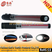 rubber led traffic police baton