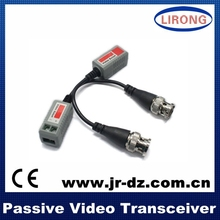 High quality CCTV camera twisted pair utp audio+power passive video balun