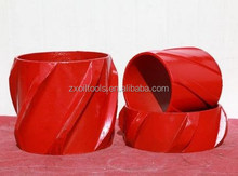 API spiral rigid Centralizer, Casing centralizer, Tubing centralizer for downhole pipe in oil field