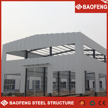 fire proof and rust proof modular rust proof low cost steel fabrication prefabricated workshop