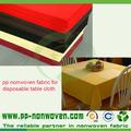 descartável não tecido toalha de mesa