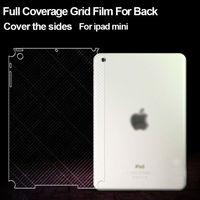 anti-slip clear back screen protector for ipad mini invisible screen protector