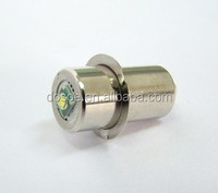 LED Upgrade Flashlight Bulb Fits Most C D 2-6 Cell PR style flange
