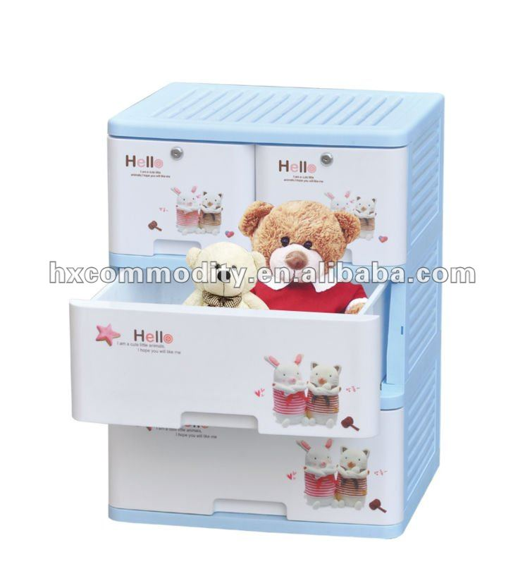 cheap plastic storage drawers cute design