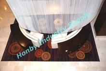 6mm Ultra Cool White Enamel Metal Beaded Curtain