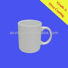 ceramic mug factory Sublimation Mugs with Orca Coating, wholesale ceramic mugs for sublimating