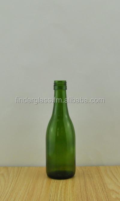 187ml mini glass bottle mini wine bottle empty 187ml wine for Empty mini plastic wine bottles