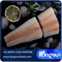 High Grade Frozen Atiantic Cod Portion
