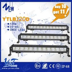 Latest Designed 4x4 led lights ip68 waterproof led light driving bar 120w