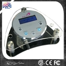 Four moulds brow lip eye medical hurricane digital tattoo power supply with mini switch cord connect line