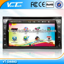 6.2 inch auto 2 din car dvd player gps