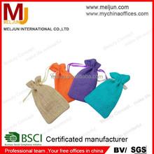 china factory custom with logo drawstring jute gift bag small drawstring pouch drawstring pouc drastring purse