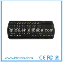 hot selling mini wireless bluetooth backlit keyboard for ipad mini smart tv