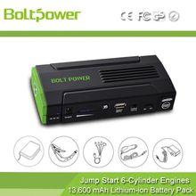 rugged design 15V/1A DC input 12V emergency Start Pack kit jumpstart 12 volt cars