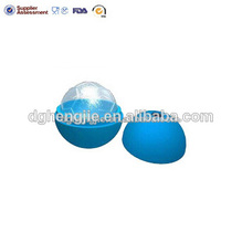 forma del pie bola de hielo de silicona bola pop bandeja de moldes
