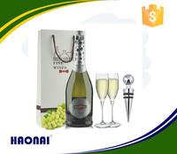 Haonai glassware bottle,375ml glass wine bottle
