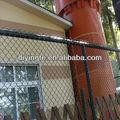 eslabón de la cadena de malla de alambre de la cerca del zoológico de los precios de metal de malla