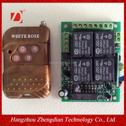 2262 transmitter 2272.L4 receiver 4 channel garage door opener motor remote control