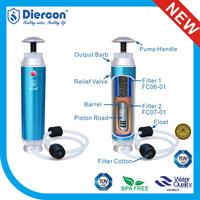 New Diercon wholesale OUTDOOR equipment alkaline water filter survival gear wholesale Top Brand Manufacturer (KP02)