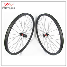 2015 farsports high quality tubeless cross country 35mm Width 29er carbon mtb wheels bike wheels