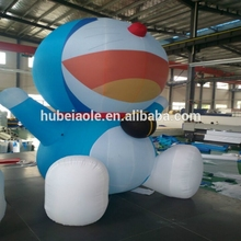 Inflatable doraemon cartoon toys