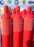 37Mn refillable seamless steel CO2 cartridge cylinder