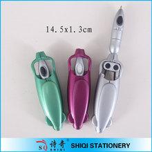 Promotional plastic logo printed robotic pens