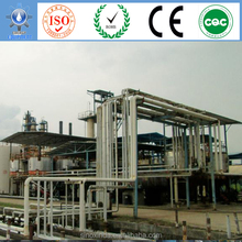 Overseas vegetable oil to biodiesel plant in refining and esterification processing