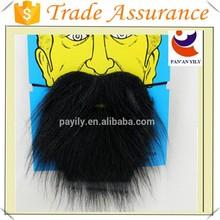 hot sale new style black artificial mustache beard fake beard