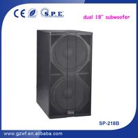 SPE Audio Dual 18 Subwoofer/Outdoor Subwoofer Speaker/220mm Magnet Subwoofer SP-218B