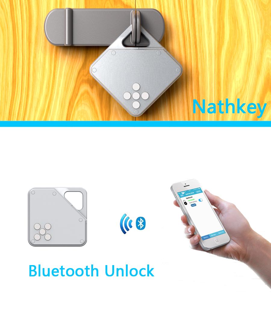 Nathkey Bluetooth замка беспроводной блокировки