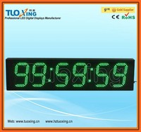 6 inch 6 digits led sports timing stopwatch