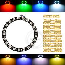 2x 4x 6x DC12v 5050SMD Multi Colour RGB Color Changing LED Ring Light