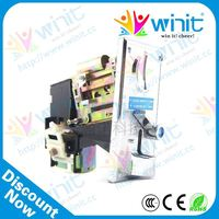 Low price vending machine remote control cpu electronic multi coin acceptor / coin selector / coin receiver spare parts