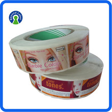 Customised self adheisve printed stickers for canada, printing sticker for canada market