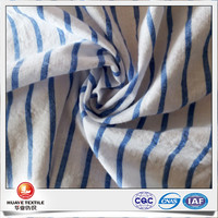 polyester cotton crinkle crepe fabric dress material