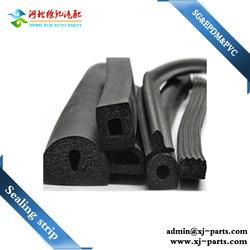 flexible heat resistance high pressure resistance plastic glass glazing rubber sealing strip