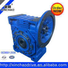 NMRV150 worm gear reducer with electromotor 5: 1 ratio gearbox