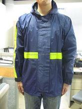 Good quality OEM new design polyester double rain coat
