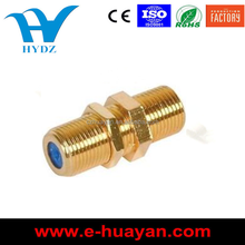 3GHz High Performance F81 F Female to Female Connector gold plated