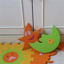 Interlocking eva kids play mat Children's early education toys