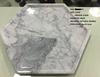 Hexagonal marble cutting board