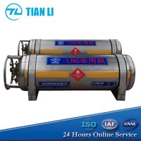 Cryogenic Liquid LNG Cylinder Liquefied Natural Gas Cylinder For Truck, For Vehicle