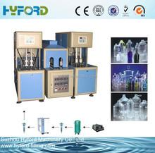 Plastic bottle blowing machine/ Semi-automatic bottle blow moulding machine/ PET bottle making machine