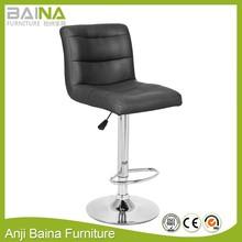 PU leather metal bar stool chair bar chair dimensions