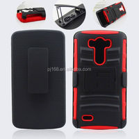 3 in 1 heavy duty kickstand hybrid combo case for Samsung galaxy note 3