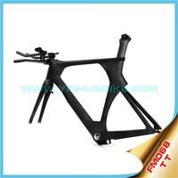 Chinese Yishunbike TT FM068 carbon bike frame bicycle time trial frame sale