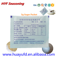 Flavor Dishes and Control Portion with Sugar Packet