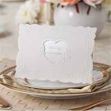special heart hotsell 2015 leaf shape card for wedding greeting invitations cards