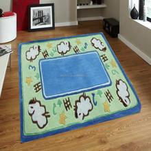 morden design popular shaggy child crawling carpet and rug